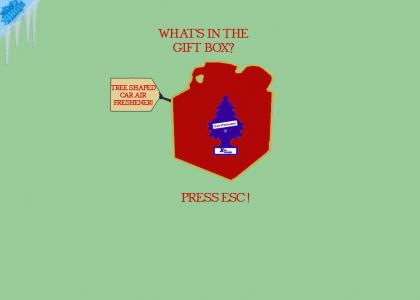What's In The Gift Box? (Press Esc)