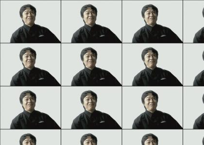 Shigeru Miyamoto gets down