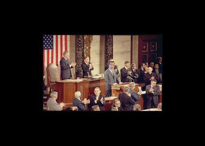 Shatner Addresses Congress
