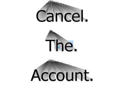 AOL - Cancel. The. Account.