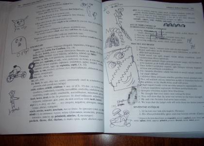 Latin class is boring (redone)