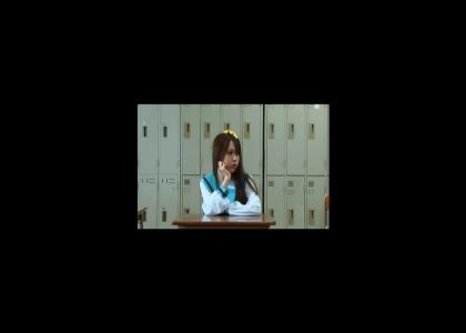 Haruhi Suzumiya Doesn't Change Facial Expressions NOW IN LIVE ACTION!!!!