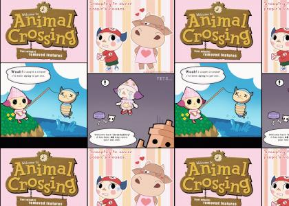 Animal Crossing - deleted features