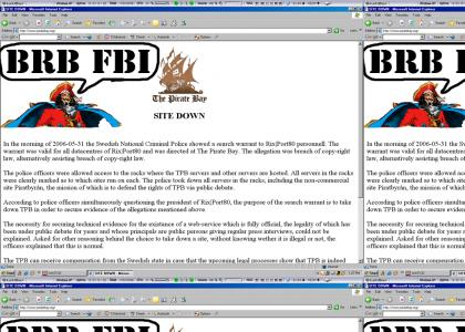 Piratebay.org Shut Down!!! (major updates!)