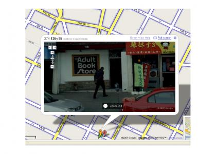 BUSTED on Street View!