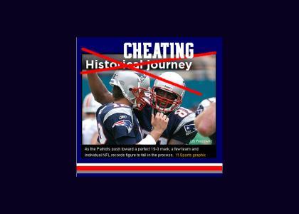 The New England Patriots Epic Manuever