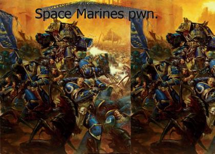 Warhammer 40k epicness!