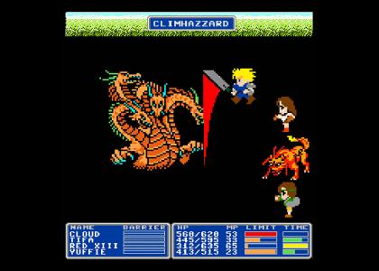 Final Fantasy 7 - NES Remix