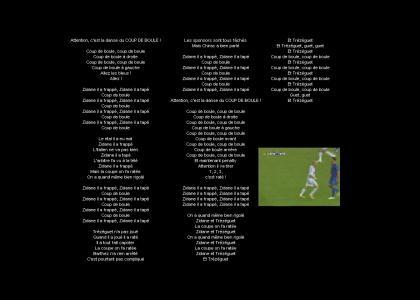 Zinedine Zidane Song