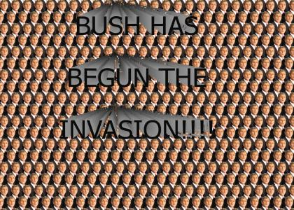 BUSH INVASION