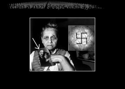 OMG! Secret nazi jew!