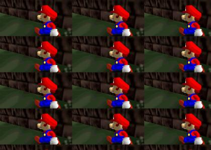 Mario Can't Stop the Rock (genuine)