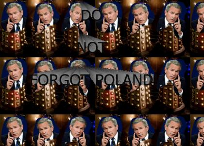 Bushes: Do Not Forgot Poland (but do vote 5)