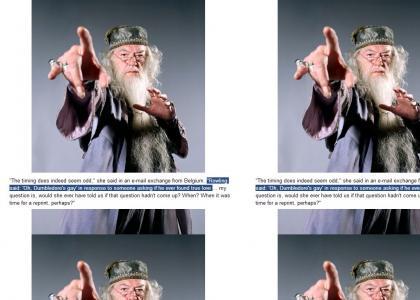 Dumbledore Is A Superstar...