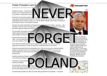 RIP Lech Kaczynski 1949-2010 :(