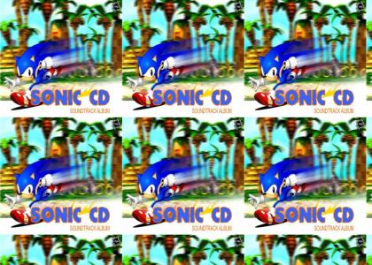 "Sonic CD ""Japanese vs American theme"""