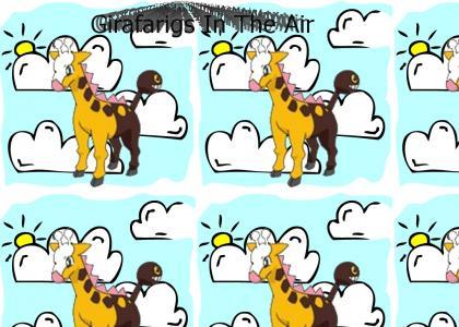Girafarigs In The Air