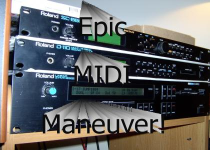 Epic MIDI Maneuver!
