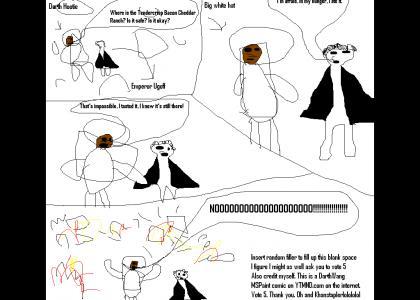 UGOFFTMND: Darth Hootie and Emperor Ugoff get their NOOOOOO on