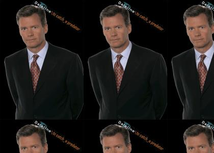 Chris Hansen Wants to Suck On Your Blood