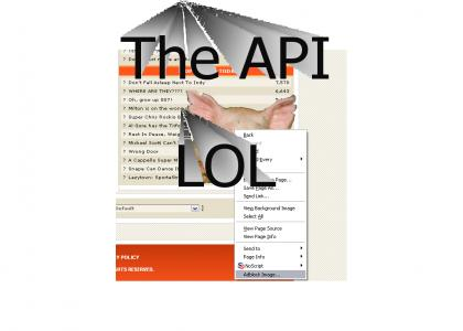 Click here to go to the API.