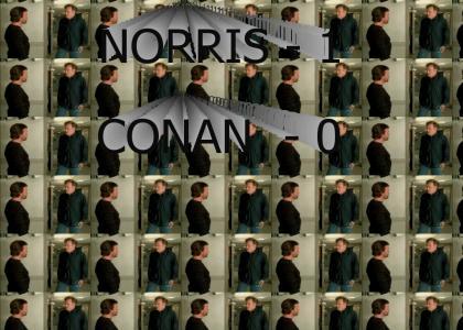 Conan Vs Chuck Norris
