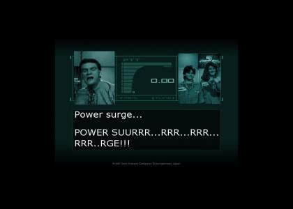 Metal Gear Power Surge