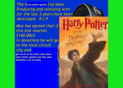 J.K. Rowling Spoiler Fundraiser