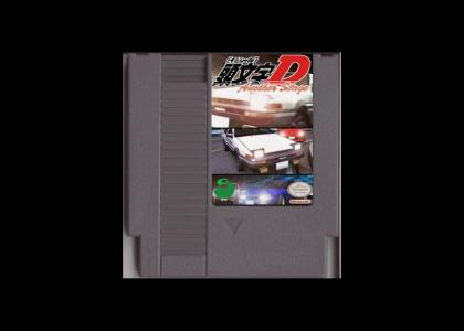 Initial D For NES! (With Screenshot)