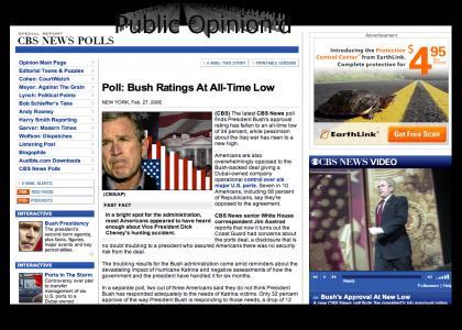 Bush is emo :(((