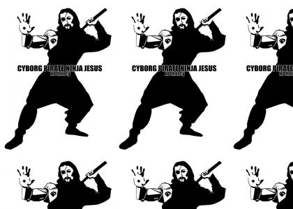 Ninja Cyborg Pirate Jesus