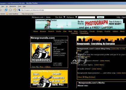 Ebaum's Steals Newgrounds Myspace