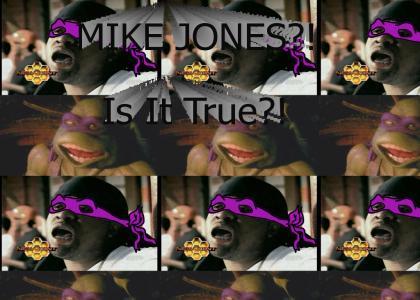 Mike Jones Is A....NINJA TURTLE?!