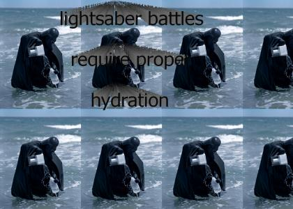 darth vader is thirsty