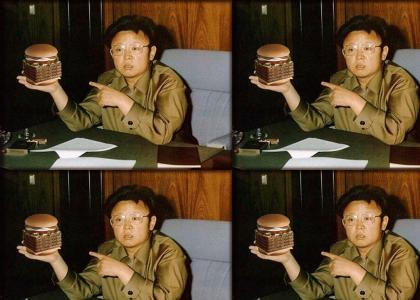 kim jong il loves wendy's
