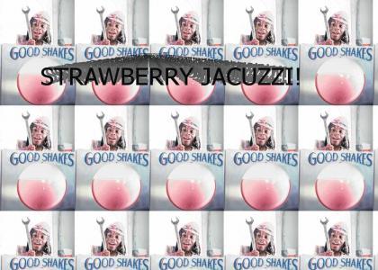 Strawberry Jacuzzi!