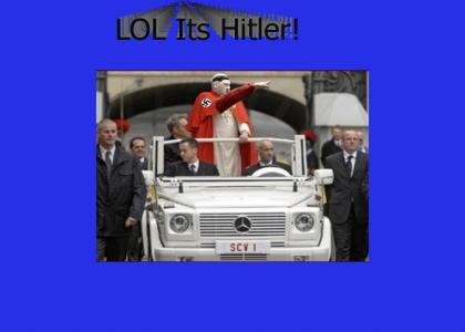 LOL The Pope has new car
