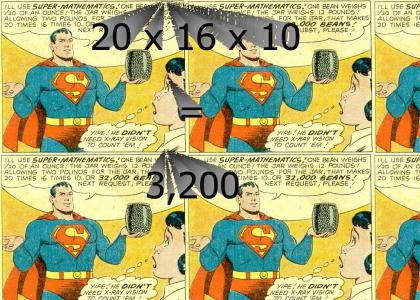 Superman fails at maths