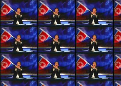 Colbert Salutes Our New North Korean Overlords