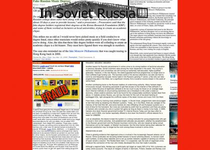 In Soviet Russia, the Music Industry Steals from You!