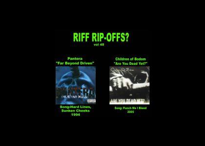 Riff Rip-Offs Vol 48 (Pantera v. Children of Bodom)