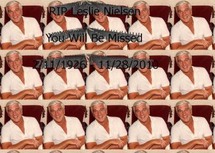 RIP Leslie Nielsen