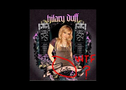 ENTER Hilary Duff...