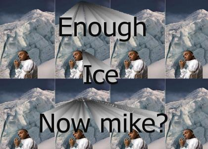 Mike jones got his ice age.