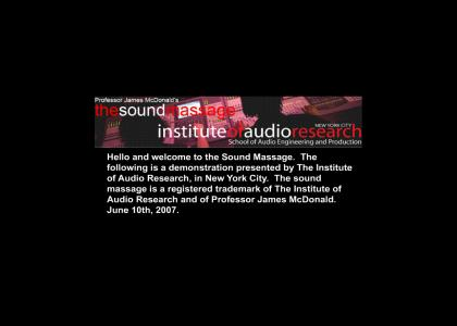 The Sound Massage