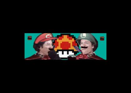 MARIO vs LUIGI -Mushroom Eating Contest   (VOTE FOR THE WINNER)!