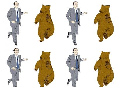 Getting down with Nicolas Cage (and Bear)