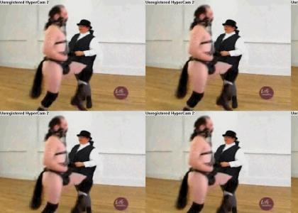Bondage horse