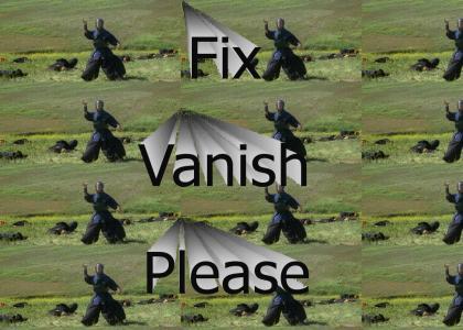 Fix Vanish