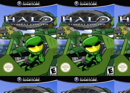 HALO ON GAMECUBE